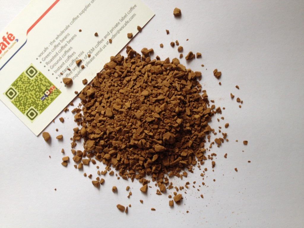 instant coffee freeze-dried